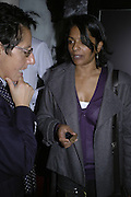 Maria Parviz and Rowena Ratnam, Drinks party to launch a new Thomas Pink shirt called The Mogul which has a pocket which houses one's cigar. Hostyed by the Spectator and Thomas Pink. Floridita. Wardour St. London. 1 November 2006. -DO NOT ARCHIVE-© Copyright Photograph by Dafydd Jones 66 Stockwell Park Rd. London SW9 0DA Tel 020 7733 0108 www.dafjones.com