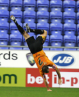 Photo: Sportsbeat Images.<br /> Wigan Athletic v Hull City. Carling Cup. 28/08/2007.<br /> Hull City goalscorer Stuart Elliott back flips in celebration