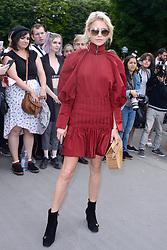 Caroline Daur attending the Dior Homme show during the Paris Men's fashion Week Spring Summer 2018, in Paris, France on june 24, 2017. Photo by Aurore Marechal/ABACAPRESS.COM