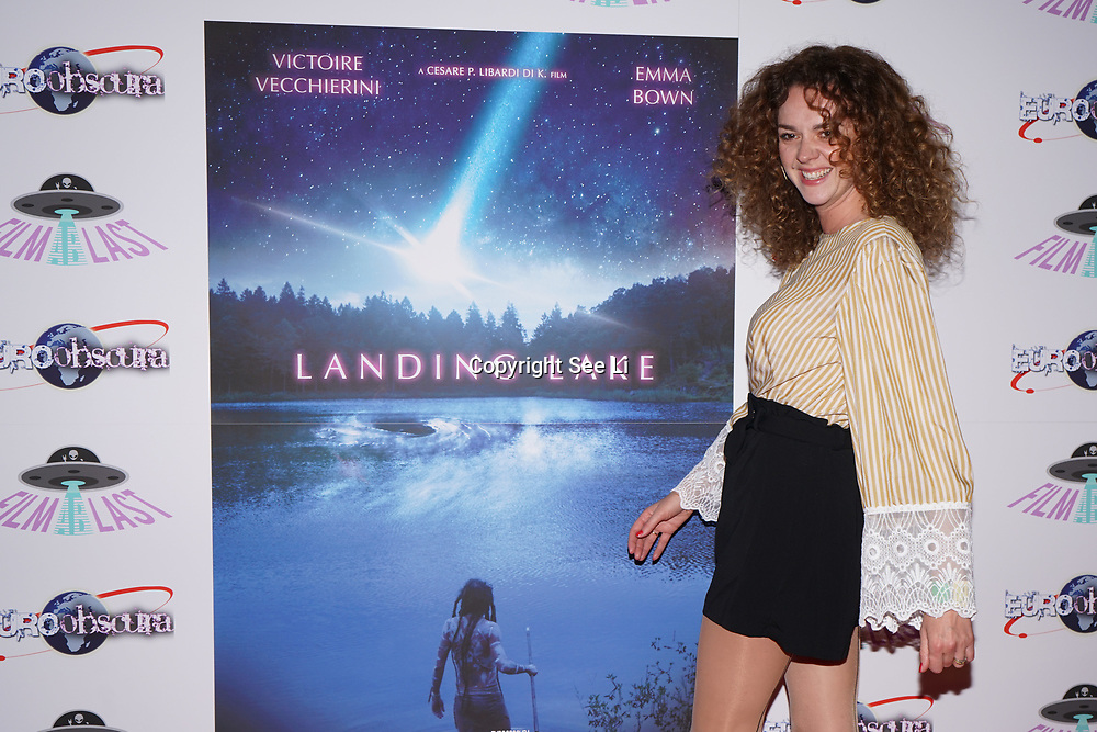 London, England, UK. 14th September 2017.Catherine Bailey (The Crown)attend the Landing Lake Film Premiere at Empire Haymarket,London, UK.