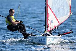 , Kiel - Kieler Woche 20. - 28.06.2015, Musto Skiff - GBR 487 - Schooling, Ben