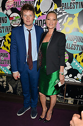 KATE MOSS and COUNT NIKOLAI VON BISMARCK at Hoping's Greatest Hits - the 10th Anniversary of The Hoping Foundation's charity benefit held at Ronnie Scott's, 47 Frith Street, Soho, London on 16th June 2016.