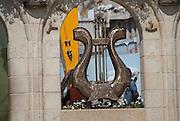 Israel, Jerusalem, King David's Harp