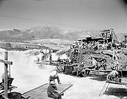 "Ackroyd 03991-3. ""Indians fishing at Celilo Falls. September 13, 1952"""