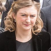 LUX/Luxemburg/20190504 - Funeral of HRH Grand Duke Jean/  erfgroothertogin Stefanie Stéphanie de Lannoy