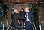 SIMON REUBEN; JOHAN ELIASCH, Early launch of Rupert's. Robin Birley  new premises in Shepherd Market. 6 Hertford St. London. 10 June 2010. .-DO NOT ARCHIVE-© Copyright Photograph by Dafydd Jones. 248 Clapham Rd. London SW9 0PZ. Tel 0207 820 0771. www.dafjones.com.