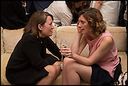 LUCY WALKER; LAUREN MILLIGAN, The Launch of OSMAN the Collective No.3, hosted by Valeria Napoleone, Kensington. 15 May 2014.