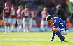 Birmingham City's Craig Gardner dejected at the final whistle