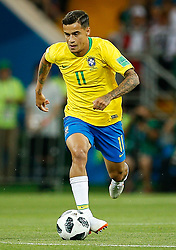 June 17, 2018 - Rostov Do Don, Rússia - ROSTOV DO DON, RO - 17.06.2018: BRAZIL VS SWITZERLAND - Philippe Coutinho of Brazil during a match between Brazil and Switzerland valid for the first round of group E of the 2018 World Cup, held at the Rostov Arena in Rostov on Don, Russia. (Credit Image: © Marcelo Machado De Melo/Fotoarena via ZUMA Press)