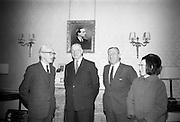 16/12/1965<br /> 12/16/1965<br /> 16 December 1965<br /> <br />  Mr. Sean Flanagan T.D. Recived by President Éamon de Valera