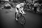 Bram Tankink bij de proloog van de Tour de France in Rotterdam.<br /> <br /> Bram Tankink at the prologue of the Tour de France 2010 in Rotterdam.
