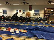 Islamic Center of Reading, evening prayers during Ramadan