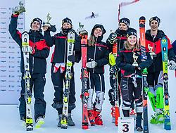 23.01.2019, Streif, Kitzbühel, AUT, Kitzbühel, Riesenslalom, Longines Future Hahnenkamm Champions, im Bild 3rd. Team Tirol // 3rd team Tyrol during the Giant slalom of Longines Future Hahnenkamm Champions at the Streif in Kitzbühel, Austria on 2019/01/23. EXPA Pictures © 2019, PhotoCredit: EXPA/ Stefan Adelsberger