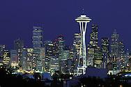 Washington, Seattle, Dusk, These United States Book .page 212