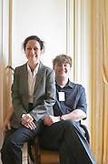 Soren Davidsen and Valerie Monfort, owners, Chateau Clos de Mons & Ch Peybotte, Bordeaux, France