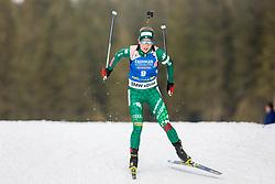 Federica Sanfilippo (ITA) during Women 15km Individual at day 5 of IBU Biathlon World Cup 2018/19 Pokljuka, on December 6, 2018 in Rudno polje, Pokljuka, Pokljuka, Slovenia. Photo by Ziga Zupan / Sportida