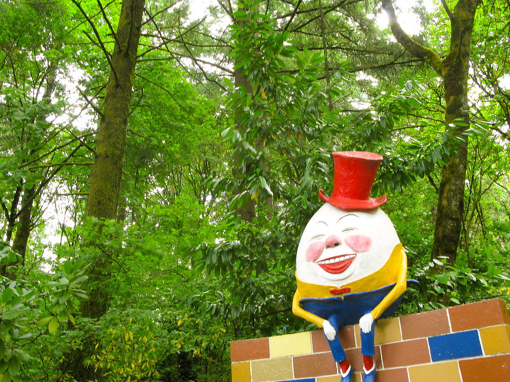 The Enchanted Forest is an amusement park located in Turner, Oregon, next to Interstate 5 just south of Salem. Creator Roger Tofte opened the park in 1971 after seven years of construction. Today, the Tofte family still owns and operates the 20-acre park.