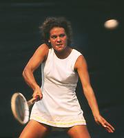 Evonne  Goolagong (Australia) 1971 Wimbledon Tennis Championships Later Evonne Cawley Credit : Colorsport