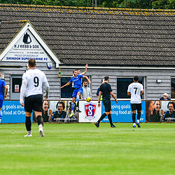 Swindon Supermarine Fc friendly vs Hungerford Town fc at the Webbswood stadium. McDonagh scores the opening goal in the 32nd minute. With new trialists trying out for the Marine side Rowan Doyle from the Supermarine DEVS. But it wasnt long before a penalty given Harding on the spot kick to equalise, and a last minute thunderbolt from again James Harding see the Hungerford team leaving the final score 2-1 to Hungerford 15/08/2020 Webbswood stadium Swindon Swindon Supermarine Fc hosts Hungerford Town Fc in this pre season friendly. 32nd minute goal by McDonagh. With new players that have joined marine outfit over the extended break it was good to see new players mould very well. A penalty given to Hungerford see James Harding make the score 1-1, But it wasn't before long when again James Harding rockets on in the back of the net in the 98th minute seeing the final score 2-1 win for Hungerford Town.