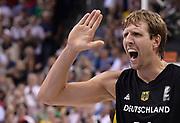 DESCRIZIONE : Berlino Berlin Eurobasket 2015 Group B Serbia Germany<br /> GIOCATORE : Dirk Nowitzki<br /> CATEGORIA : Esultanza Mani <br /> SQUADRA : Germany <br /> EVENTO : Eurobasket 2015 Group B<br /> GARA : Serbia Germany<br /> DATA : 05/09/2015<br /> SPORT : Pallacanestro<br /> AUTORE : Agenzia Ciamillo-Castoria/R.Morgano<br /> Galleria : Eurobasket 2015<br /> Fotonotizia : Berlino Berlin Eurobasket 2015 Group B Serbia Germany