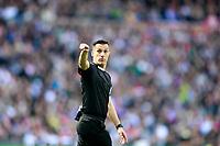 Spanish referee Xavier Estrada Fernandez during La Liga match. April 8,2018. (ALTERPHOTOS/Acero)