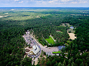 Nederland, Gelderland, Gemeente Apeldoorn, 21–06-2020; Hoenderloo, Het Nationale Park De Hoge Veluwe. Bezoekerscentrum park Hoge Veluwe, De Koperen Kop, Museonder.<br /> The Hoge Veluwe National Park. Visitor center park Hoge Veluwe.<br /> <br /> luchtfoto (toeslag op standaard tarieven);<br /> aerial photo (additional fee required)<br /> copyright © 2020 foto/photo Siebe Swart