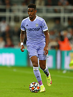NEWCASTLE UPON TYNE, ENGLAND - SEPTEMBER 17: Junior Firpo of Leeds United during the Premier League match between Newcastle United and Leeds United at St. James Park on September 17, 2021 in Newcastle upon Tyne, England. (Photo by MB Media)