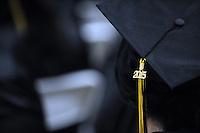 A 2015 tassel at the Mt. Toro High School graduation ceremony on Thursday in Salinas.