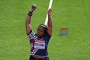 Ashley Bologna (FRA) competes in Shot Put Women during the IAAF World U20 Championships 2018 at Tampere in Finland, Day 2, on July 11, 2018 - Photo Julien Crosnier / KMSP / ProSportsImages / DPPI