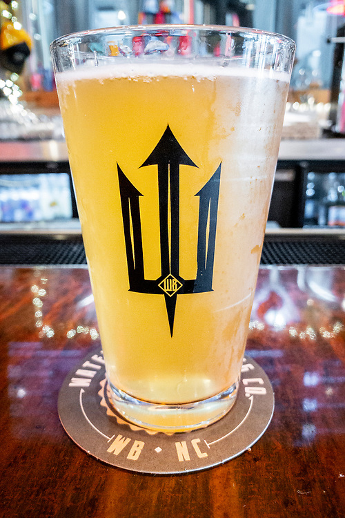 Fresh craft beer at Waterman's Brewing in Wilmington, North Carolina on Tuesday, August 10, 2021. Copyright 2021 Jason Barnette