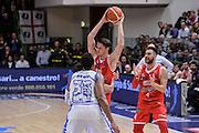 DESCRIZIONE : Beko Legabasket Serie A 2015- 2016 Playoff Quarti di Finale Gara3 Dinamo Banco di Sardegna Sassari - Grissin Bon Reggio Emilia<br /> GIOCATORE : Achille Polonara<br /> CATEGORIA : Passaggio Difesa<br /> SQUADRA : Grissin Bon Reggio Emilia<br /> EVENTO : Beko Legabasket Serie A 2015-2016 Playoff<br /> GARA : Quarti di Finale Gara3 Dinamo Banco di Sardegna Sassari - Grissin Bon Reggio Emilia<br /> DATA : 11/05/2016<br /> SPORT : Pallacanestro <br /> AUTORE : Agenzia Ciamillo-Castoria/L.Canu