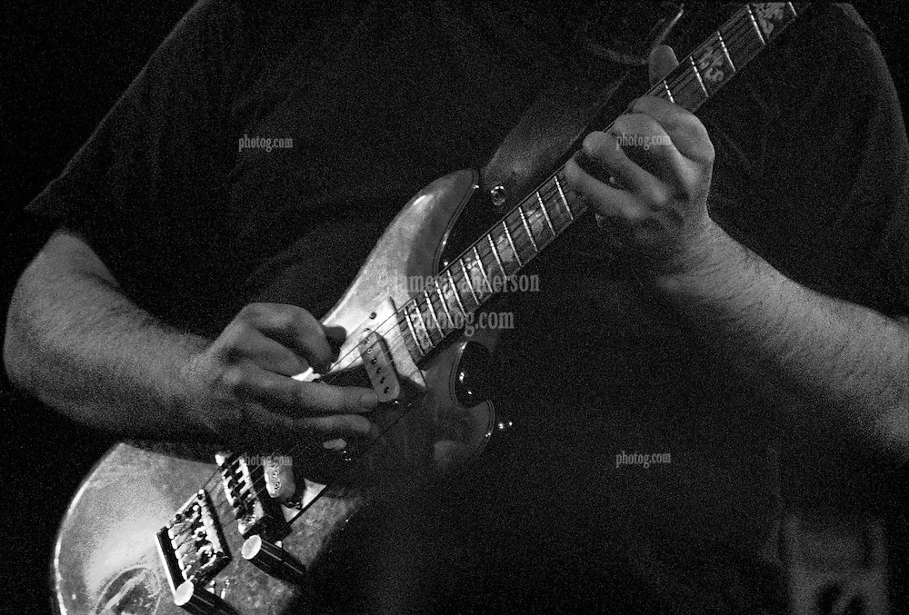 Close up photograph of Jerry Garcia's hands while playing guitar. With The Grateful Dead in Concert at Huntington West Virginia Civic Center 16 April 1978. This image is available in a limited edition of only 50 prints, signed and numbered. Color or B&W