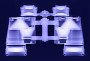 An X-ray of binoculars.