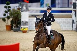 WAGERS Jana (GER), Esculino<br /> Braunschweig - Löwenclassics 2018<br /> VEOLIA Championat 2. Qualifikation zum Grossen Preis<br /> © www.sportfotos-lafrentz.de/Stefan Lafrentz