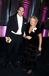DAME VIVIEN DUFFIELD and COUNT PATRICK SAICH at the Conservative Party's Black & White Ball held at Old Billingsgate, 16 Lower Thames Street, London EC3 on 8th February 2006.<br /><br />NON EXCLUSIVE - WORLD RIGHTS