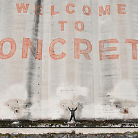 Joshy Washington in Concrete, Washington.  Photo by William Byrne Drumm.