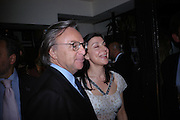 Diego della Valle. Dinner at San Lorenzo, Beauchamp Place after Tod's hosts Book signing with Dante Ferretti celebrating the launch of 'Ferretti,- The art of production design' by Dante Ferretti. 19 April 2005.  ONE TIME USE ONLY - DO NOT ARCHIVE  © Copyright Photograph by Dafydd Jones 66 Stockwell Park Rd. London SW9 0DA Tel 020 7733 0108 www.dafjones.com