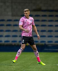 Peterhead's Jason Brown. Raith Rovers 2 v 1 Peterhead, Scottish Football League Division One played 4/1/2020 at Stark's Park, Kirkcaldy.