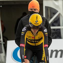 11-03-2021: Wielrennen: Healthy Ageing Tour: Lauwersoog. <br />Lernille Mathiessen