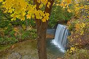 Kagawong Creek at Bridal Veil Falls, Manitoulin Island, Ontario, Canada