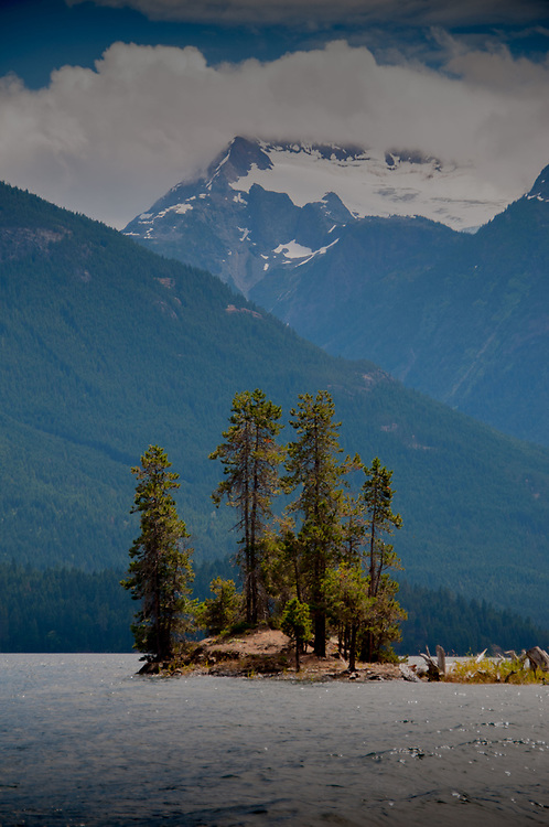 Cat Island, Ross Lake National Recreation Area, North Cascades National Park, US