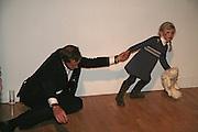 Philip von Stauffenberg and his daughter Mafalda, Margaret Salmon supported by Max Mara. Whitechapel. 24 January 2007.  -DO NOT ARCHIVE-© Copyright Photograph by Dafydd Jones. 248 Clapham Rd. London SW9 0PZ. Tel 0207 820 0771. www.dafjones.com.