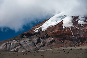 Chimborazo Volcano (Highest mountain in Ecuador) furthest point from the center of the earth<br /> Andes<br /> ECUADOR, South America