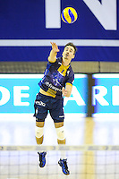 Guillermo Hernan - 20.12.2014 - Paris Volley / Sete - 12eme journee de Ligue A<br /> Photo : Andre Ferreira / Icon Sport