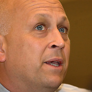 Former Major League All-Star Cal Ripken was in town for the D.J.'s Hero awards luncheon at Qwest Center Omaha May 2nd.(photo by Chris Machian)