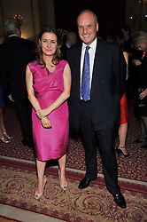 Editor of Tatler CATHERINE OSTLER and NICHOLAS COLERIDGE at a party to celebrate 300 years of Tatler magazine held at Lancaster House, London on 14th October 2009.