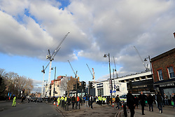 File photo dated 03-12-2016 of A general view of the building works at White Hart Lane.