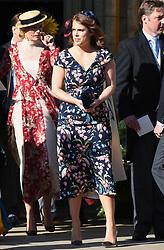 Princess Eugenie at The wedding of Ellie Goulding and Casper Jopling, York Minster. Photo credit should read: Doug Peters/EMPICS
