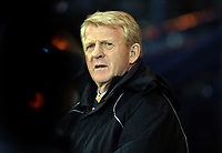 Football - World Cup Qualifier - Scotland v Wales <br /> <br /> <br /> Scotland manager Gordon Strachan looks on during the Group A 2014 World Cup Brazil  Qualifier between Scotland and Wales at Hampden Stadium, Glasgow .<br /> 22nd March 2013<br /> <br /> Colorsport