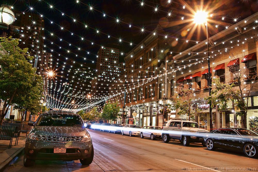 Larimer Street, Lower Downtown (LODO) @ Night